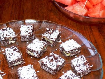 Healthy Chocolate Squares