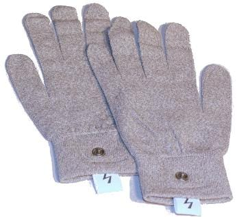 Zapper Gloves with Embedded Pure Silver Particles