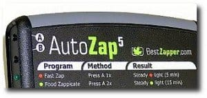 Best Zapper's AutoZap 5 Hulda Clark Parasite Zapper closeup