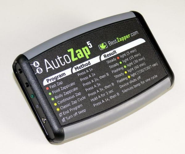 Dr. Hulda Clark Zapper - the AutoZap 5 Super-fast Zapper