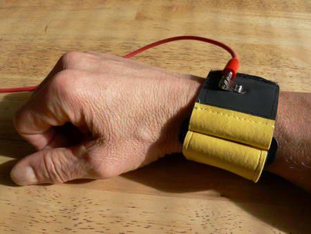 Super Straps on wrist