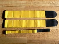 Our SuperStraps compared with a normal wrist band